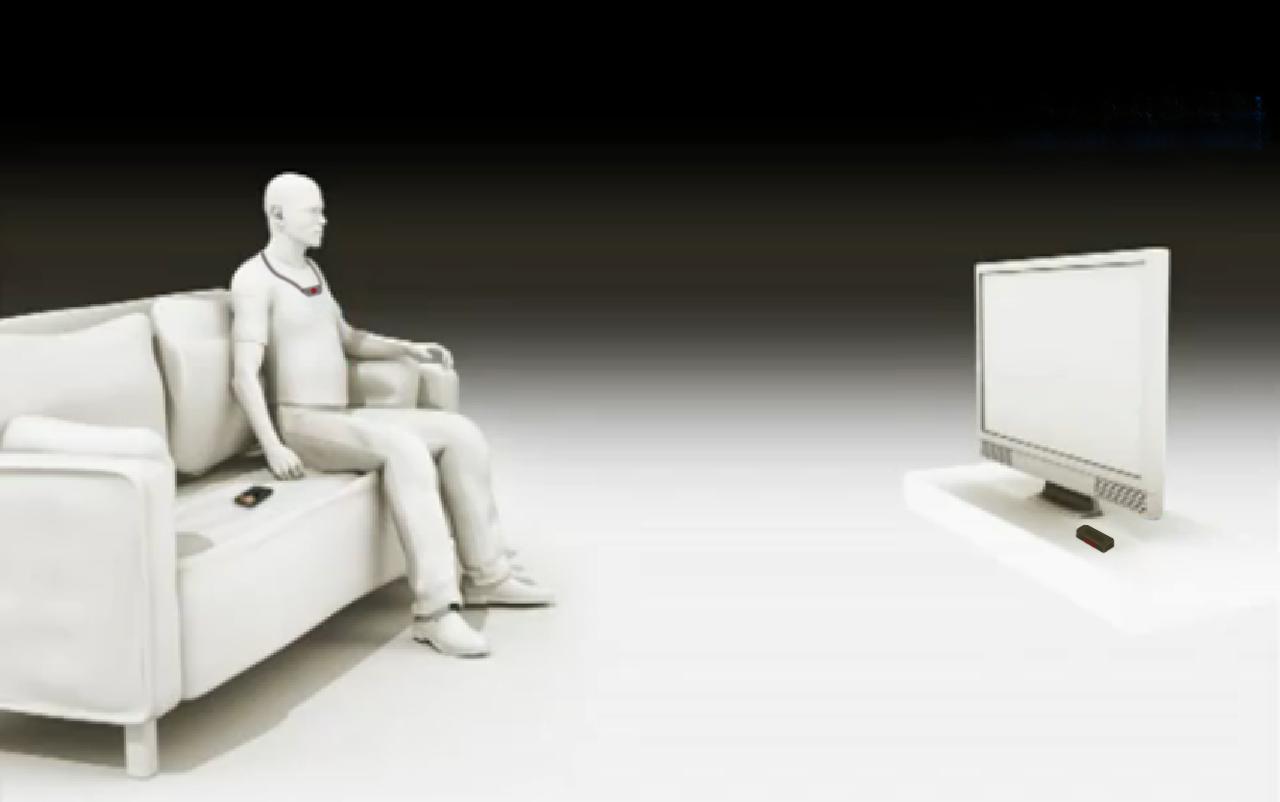 Pętla Indukcyjna do oglądania telewizji T-coil dla niedosłyszących